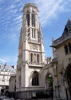 Paris - Tower of Saint-Germain church