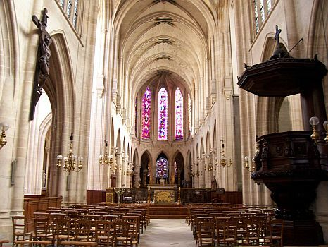 Paris - Eglise Saint-Germain