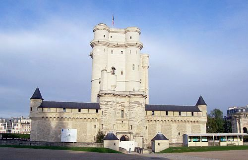 Paris - Keep of Vincennes castle