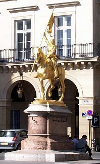 Paris - Statue of Joan of Arc