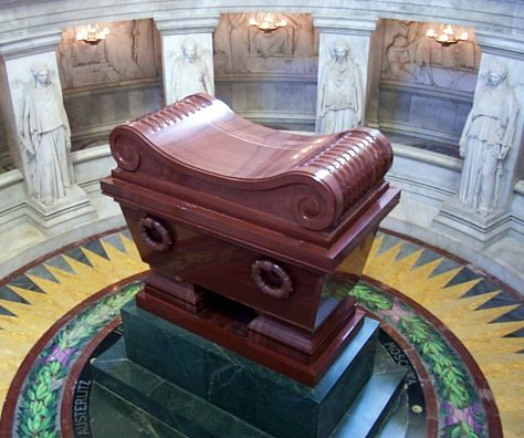 Les Invalides - Napoleon's coffin