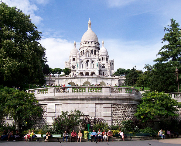 Montmartre - Basilica of the Sacred Heart