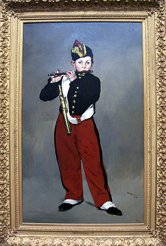 Orsay museum - The fifer / Manet