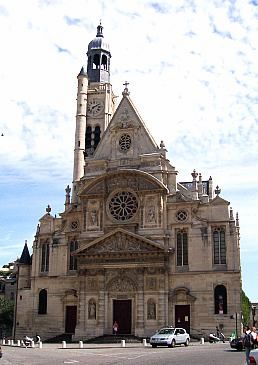 Saint-Etienne du Mont church