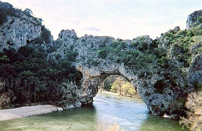 Pont d'Arc over the Ardèche river