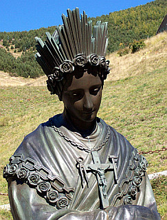 Statue of Our Lady of La Salette