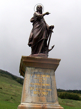 Statue of St Philomena