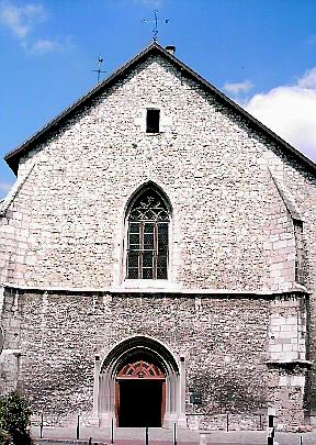 Annecy - Church St. Maurice (seen from front)