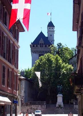 Chambéry - Keep of the castle of the Dukes of Savoy