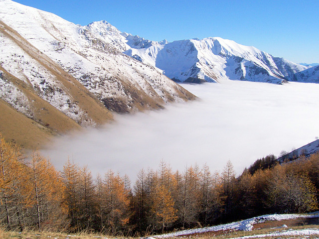 La Salette - Valley in the mist (view 3)