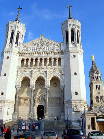 Fourviere basilica and Mary's chapel
