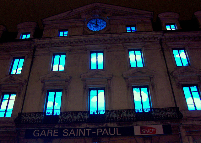 Illuminations de Lyon - Gare Saint-Paul (2006)