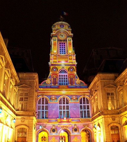 Illuminations in Lyon - City hall (2006)