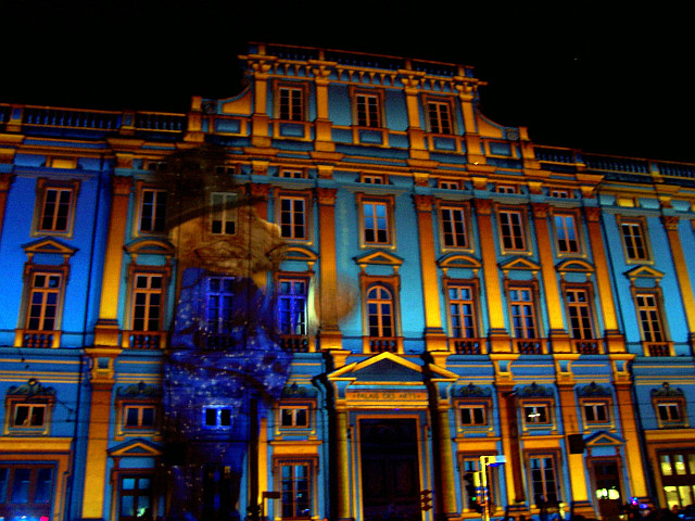 Illuminations de Lyon - Palais Saint-Pierre (2008)