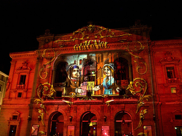 Illuminations in Lyon - Theatre of Célestins (2008)