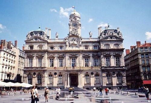 Terreaux square - City hall
