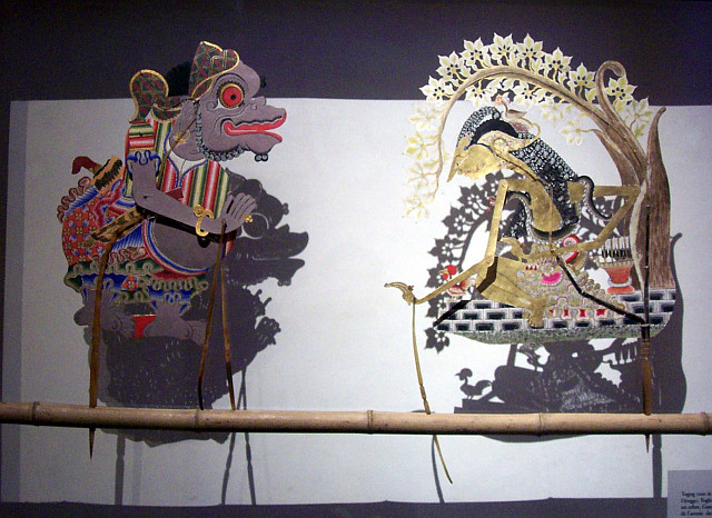 Gadagne museum - Puppets from Java