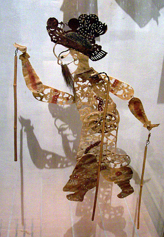 Gadagne museum - Puppets from China (19th century)