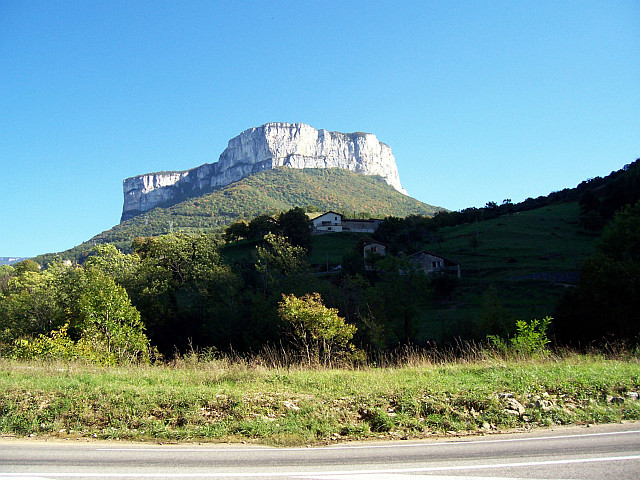 Vercors - Mountain near Choranche