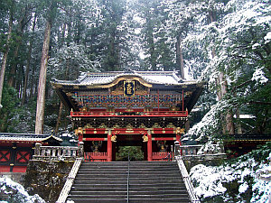 Shinto shrine in Nikko